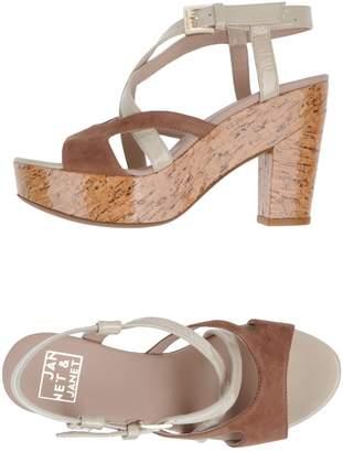 Janet & Janet Platform sandals - Item 44505929CM