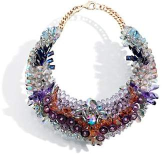 Swarovski Crystals & Plastic Necklace