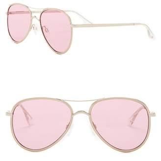 Le Specs Empire 54mm Aviator Sunglasses