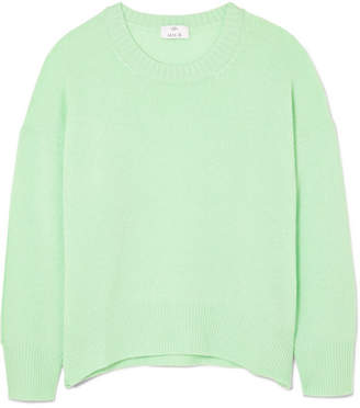 Allude Cashmere Sweater - Light green