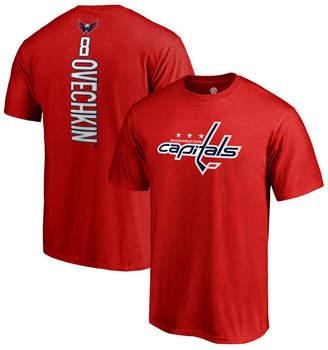 Majestic Men Alexander Ovechkin Washington Capitals Backer Player T-Shirt