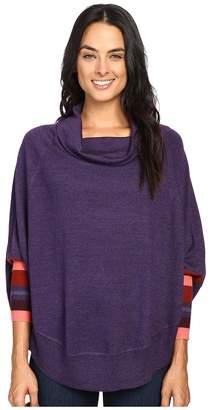 Smartwool Nokoni Striped Poncho Women's Sweater