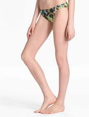 Lucky Brand COASTAL PALMS SKIMPY HIPSTER BOTTOM