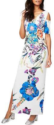 Rachel Rachel Roy Floral-Print Cold-Shoulder Dress $139 thestylecure.com