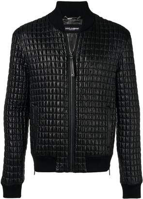 Dolce & Gabbana quilted zipped jacket