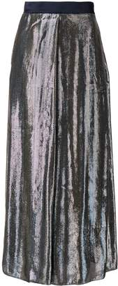 LAYEUR Mae high-shine culottes