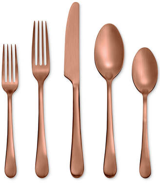 Hampton Forge Skandia By Mirabella Satin Copper 5-Pc. Place Setting