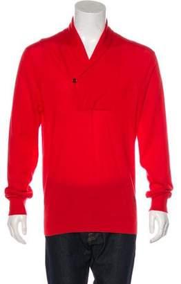 Alexander McQueen Cashmere Shawl Sweater
