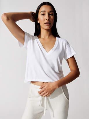 LnA Essential Cotton Sparks V Neck