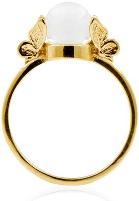 Lee Renee Butterfly Quartz Ring - Gold