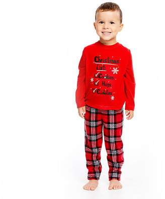 HOLIDAY #FAMJAMS Holiday Famjams Santa 2 Piece Pajama Set - Unisex Toddler
