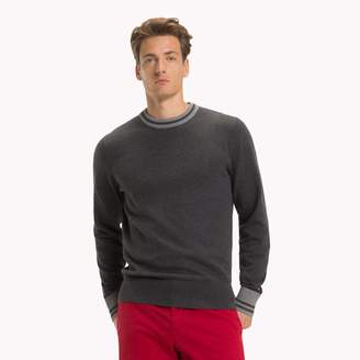 Tommy Hilfiger Tipped Crewneck Sweater