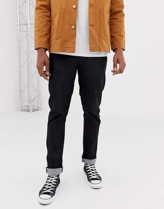 Nudie Jeans Dude Dan straight fit jeans dry deep dark comfort