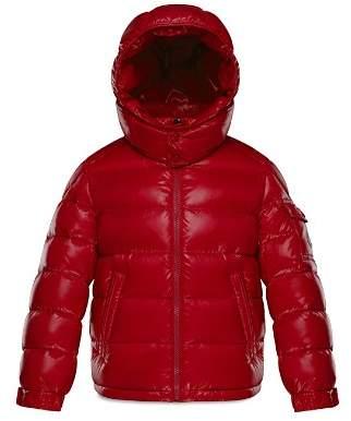 Moncler Boys' Glossy Maya Puffer Jacket - Little Kid