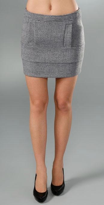 See by Chloe Tweed Miniskirt