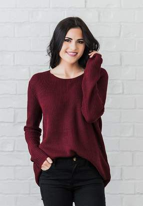 Everyday ShopRachel Parcell Plum Knit Sweater