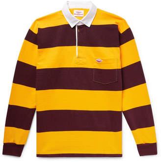 Battenwear Striped Cotton-Jersey Polo Shirt
