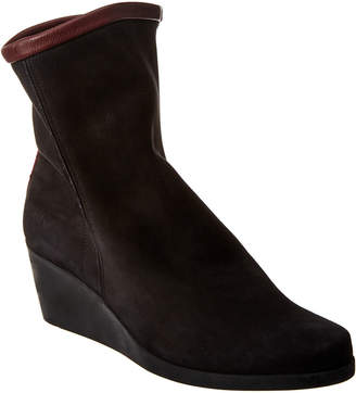 Arche Johaho Suede Wedge Bootie