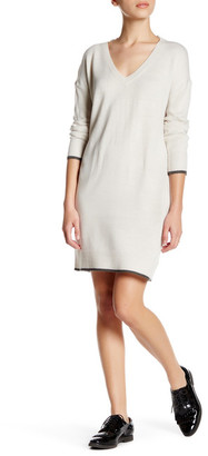 cupcakes and cashmere V-Neck Long Sleeve Knit Sweater $125 thestylecure.com
