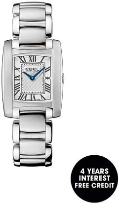 Ebel Brasilia Roman Numeral Stainless Steel Bracelet Ladies Watch