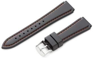 Hadley-Roma 20mm 'Men's' Rubber Watch Strap