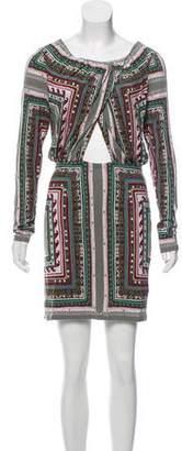 Mara Hoffman Mini Printed Dress