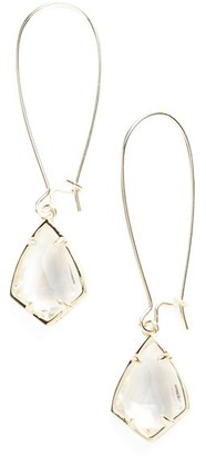 Women's Kendra Scott 'Carrine' Semiprecious Stone Drop Earrings $55 thestylecure.com