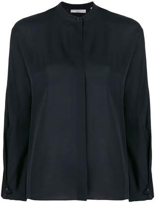 Vince mandarin neck blouse