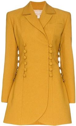 MATÉRIEL buttoned long-line blazer