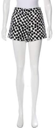 Trina Turk Mid-Rise Printed Shorts