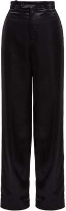 Acne Studios Tamilo wide-leg satin trousers