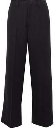 Maison Margiela Wool And Mohair-Blend Twill Straight-Leg Pants