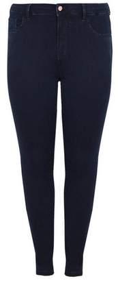 Evans Indigo Skinny Fit Jeans