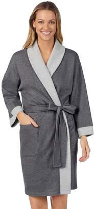 Stan Herman Women s French Terry Kimono Robe e3c820ee6