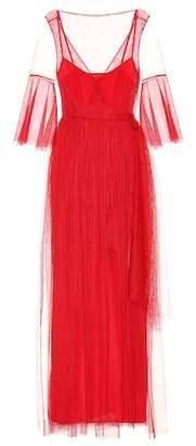 Staud Tulle maxi dress