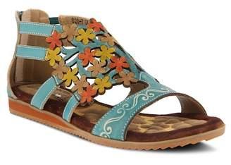 L'ARTISTE Maribel Floral Design Sandal