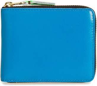 Comme des Garcons Super Fluorescent Leather Line A Wallet