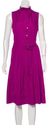 Akris Punto Sleeveless A-Line Dress