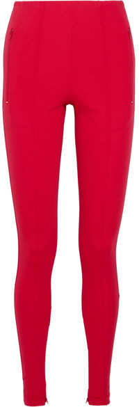 Balenciaga  Balenciaga - Stretch-jersey Leggings - Red
