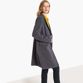 La Redoute COLLECTIONS Tailored Checked Coat