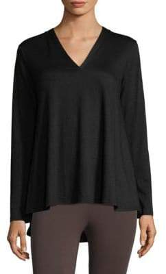 Natori Zen Terry V-Neck Top