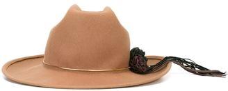 Golden Goose Deluxe Brand 'Tango Paris' hat - women - Leather/Wool - One Size