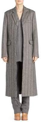 Stella McCartney Melany Wool Herringbone Coat