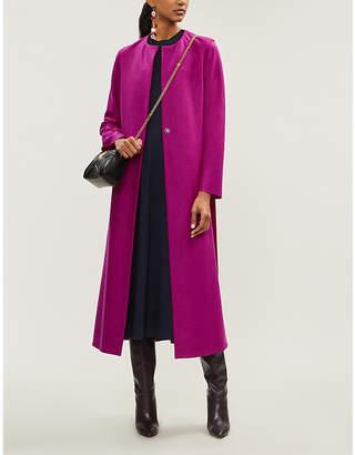 Harris Wharf London Collarless wool coat