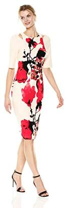 Julian Taylor Women's Floral Sheath Dress