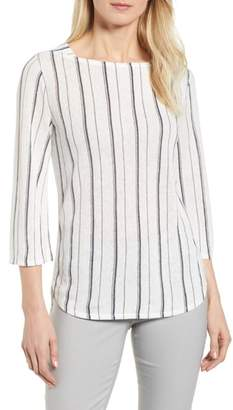 Nic+Zoe In Motion Stripe Top