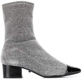 Schutz glittered ankle boots