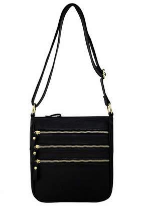 ST. JOHN'S BAY Triple Zip Crossbody Bag