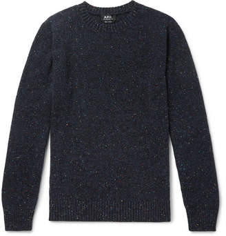 A.P.C. Rory Slim-Fit Mélange Wool Sweater