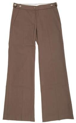 Theory Low-Rise Wide-Leg Pants